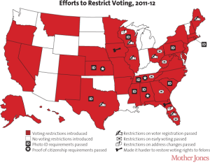 States Voter Restrictions