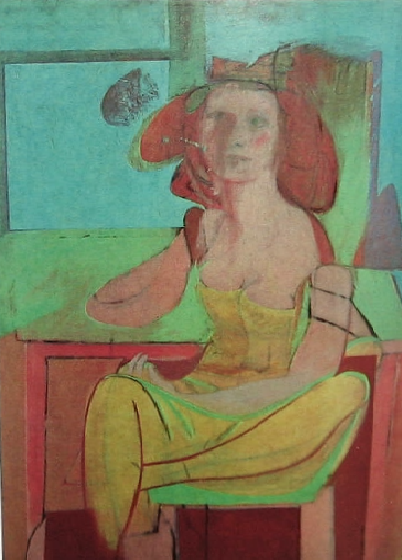 Willem de Kooning Seated Woman