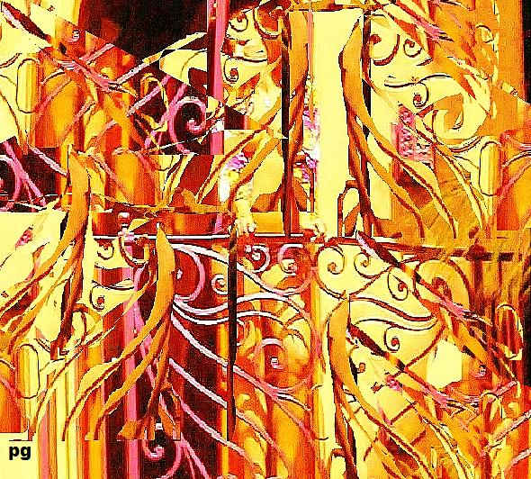 balcony, digital art by phil gennuso