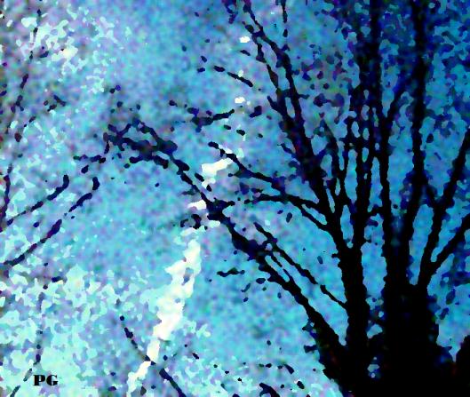 Winter Nightfall Hudson Valley NY Signed