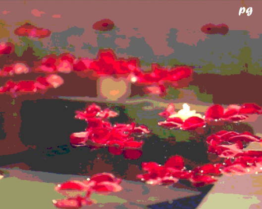 Rose Petal Bath Signed