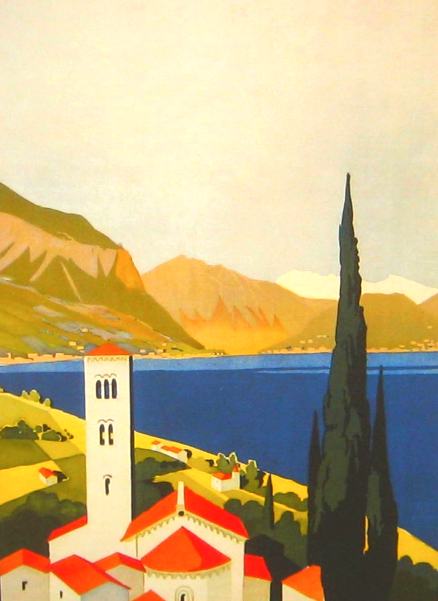 Italian Lakes Poster Cropped